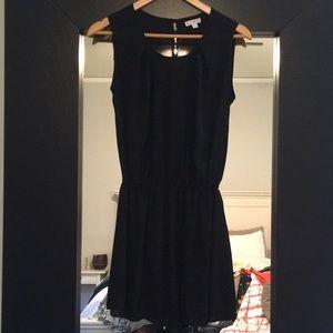 Kling black sleeveless dress